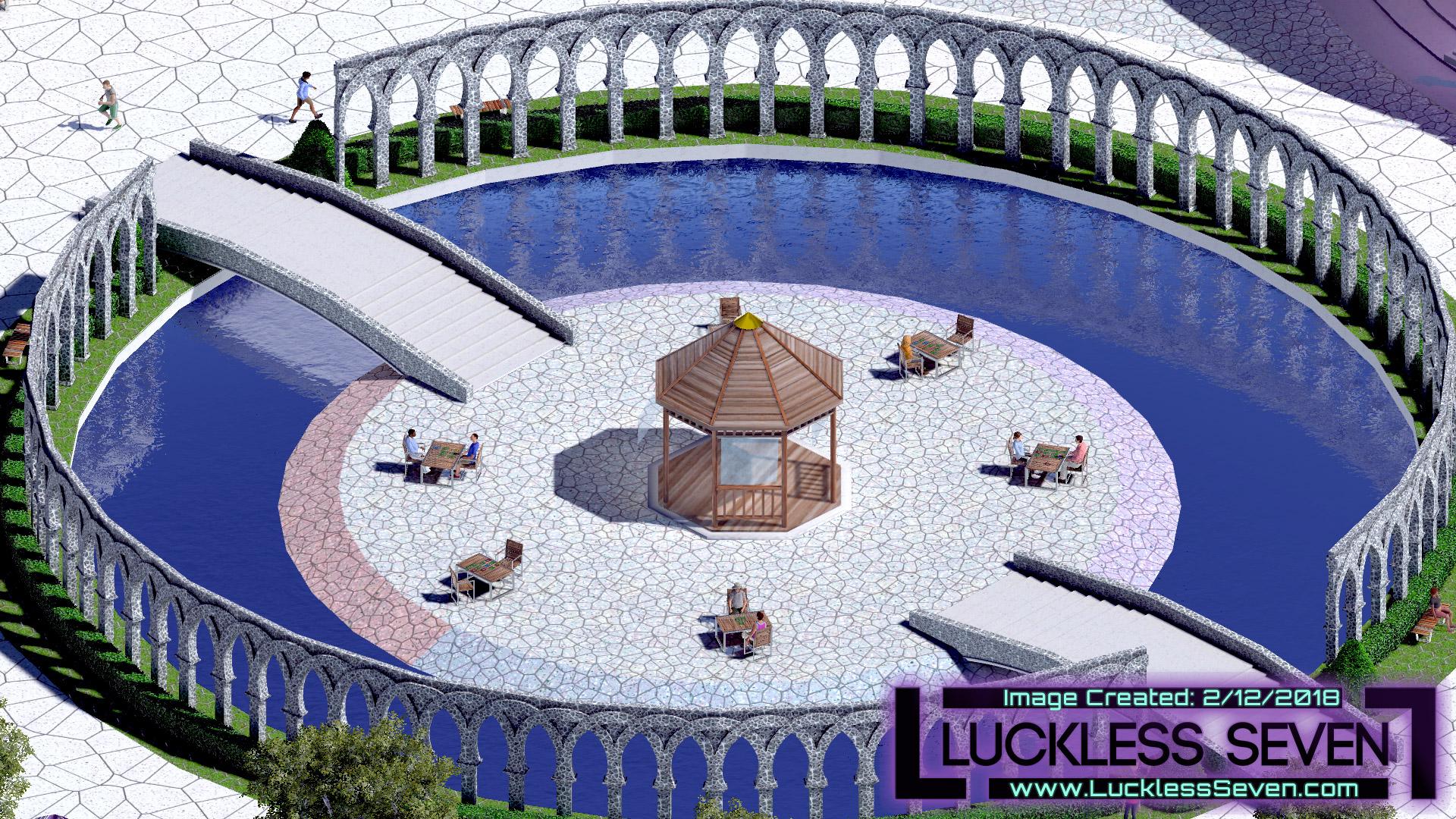 Luckless Seven Amethyst Casino E