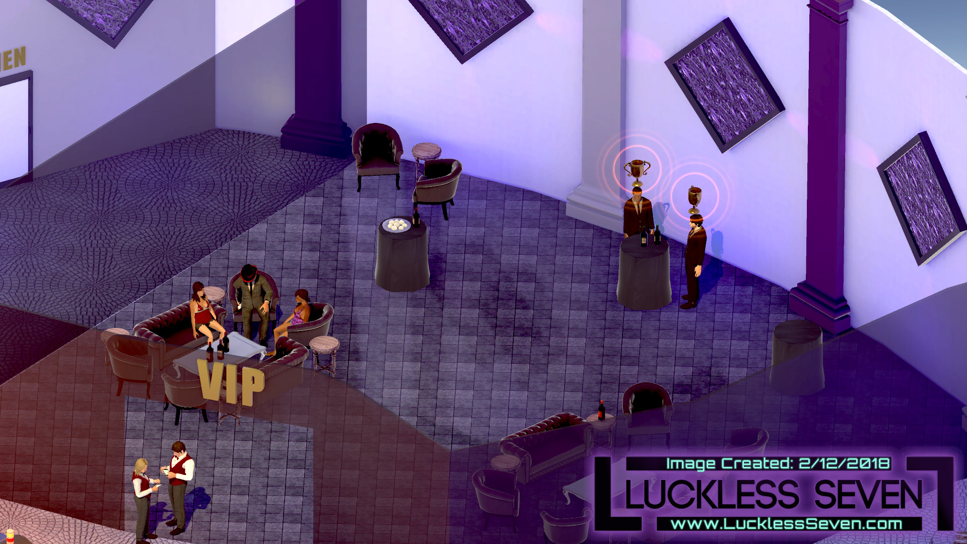 Luckless Seven Amethyst Casino I 1