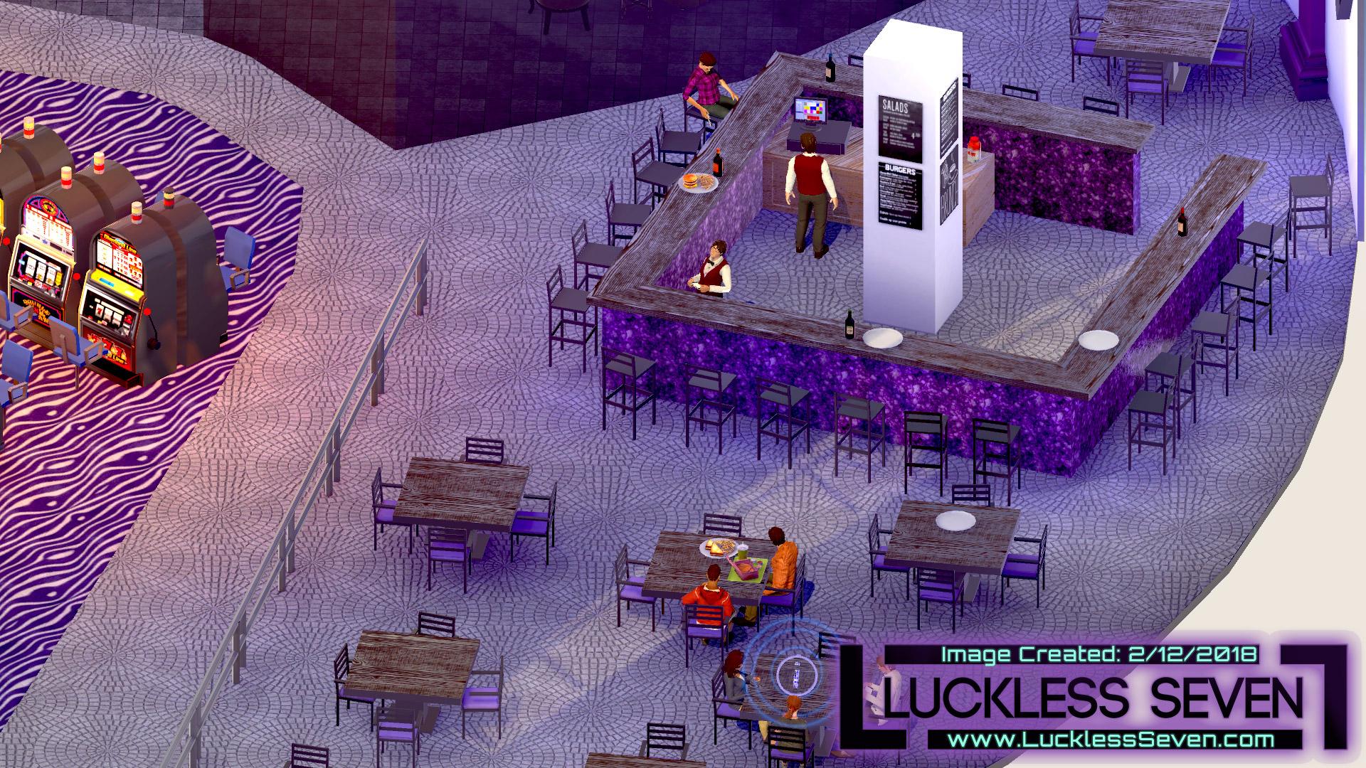 Luckless Seven Amethyst Casino I 2