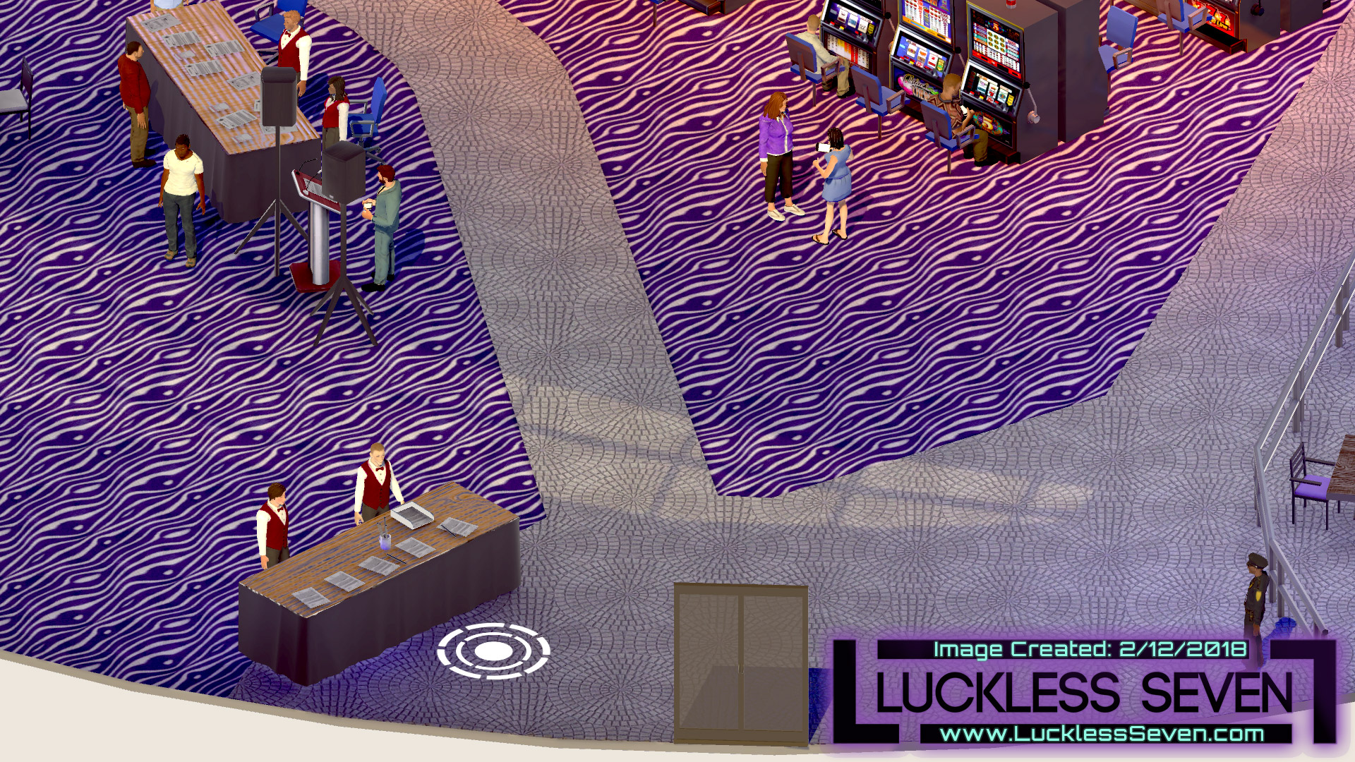 Luckless Seven Amethyst Casino I 4