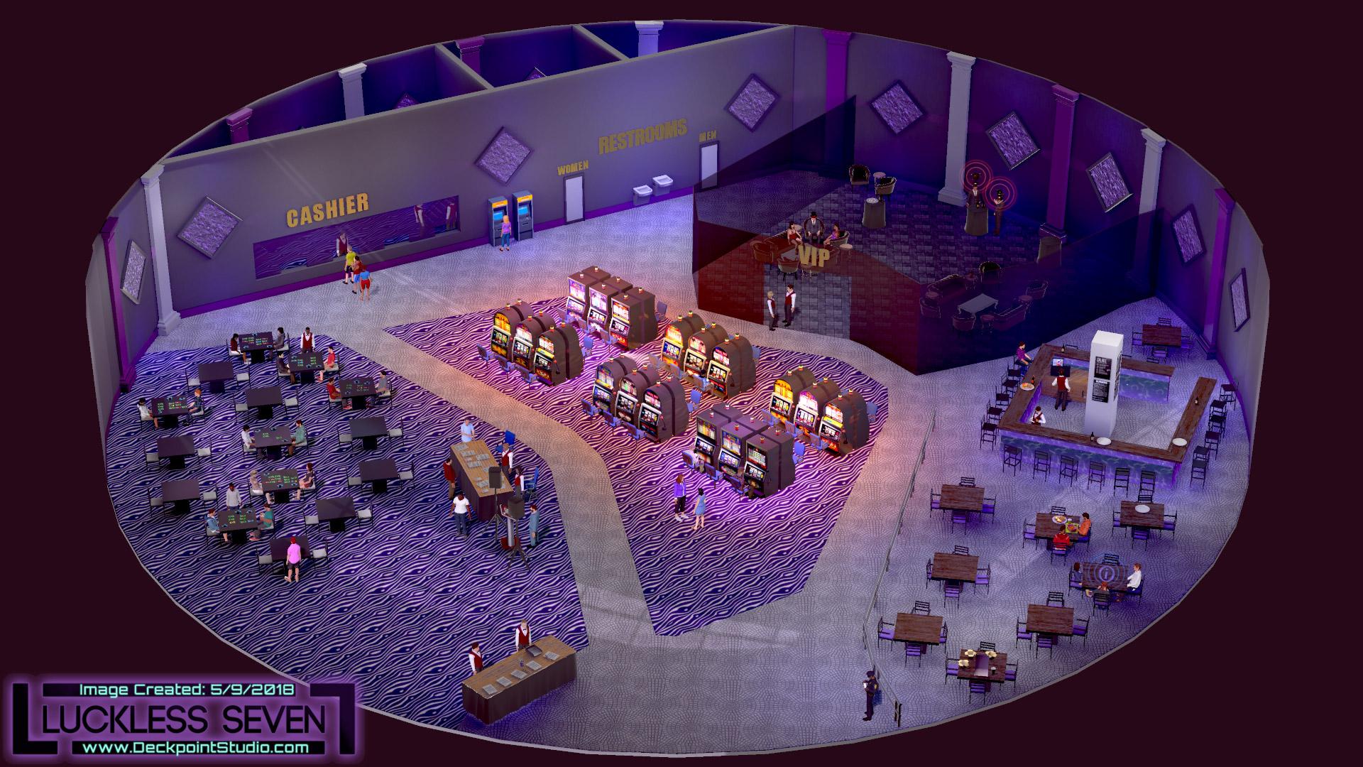 Luckless Seven Amethyst Casino I 8