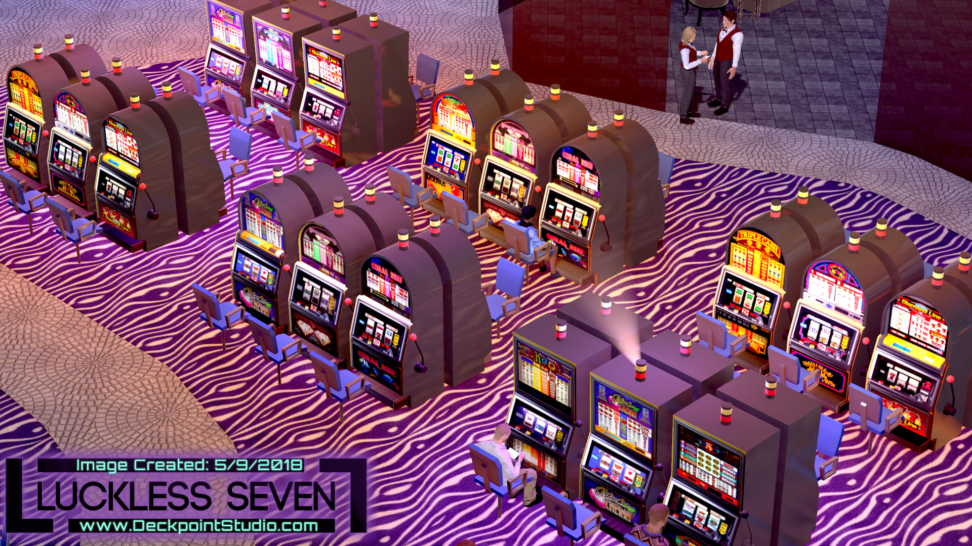 Luckless Seven Amethyst Casino I 9