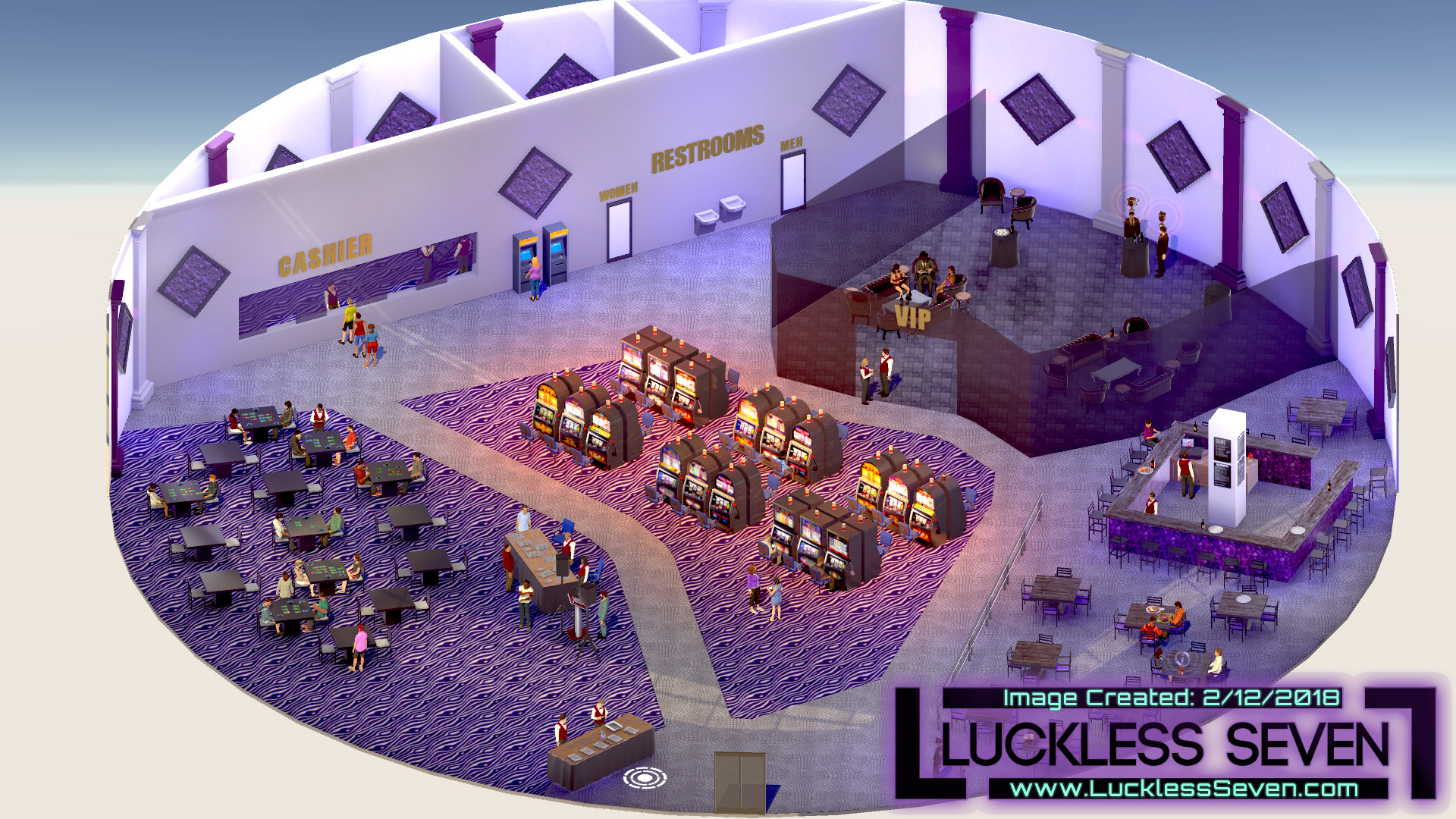 Luckless Seven Amethyst Casino I
