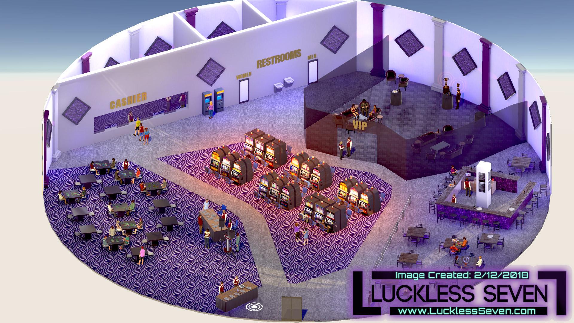 Luckless Seven Amethyst Casino I