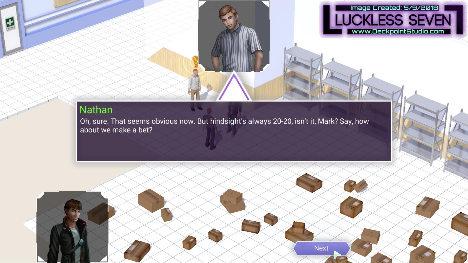 Luckless Seven Hospital Dialog N 2