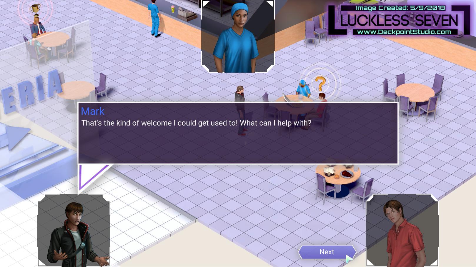 Luckless Seven Hospital Dialog N 4