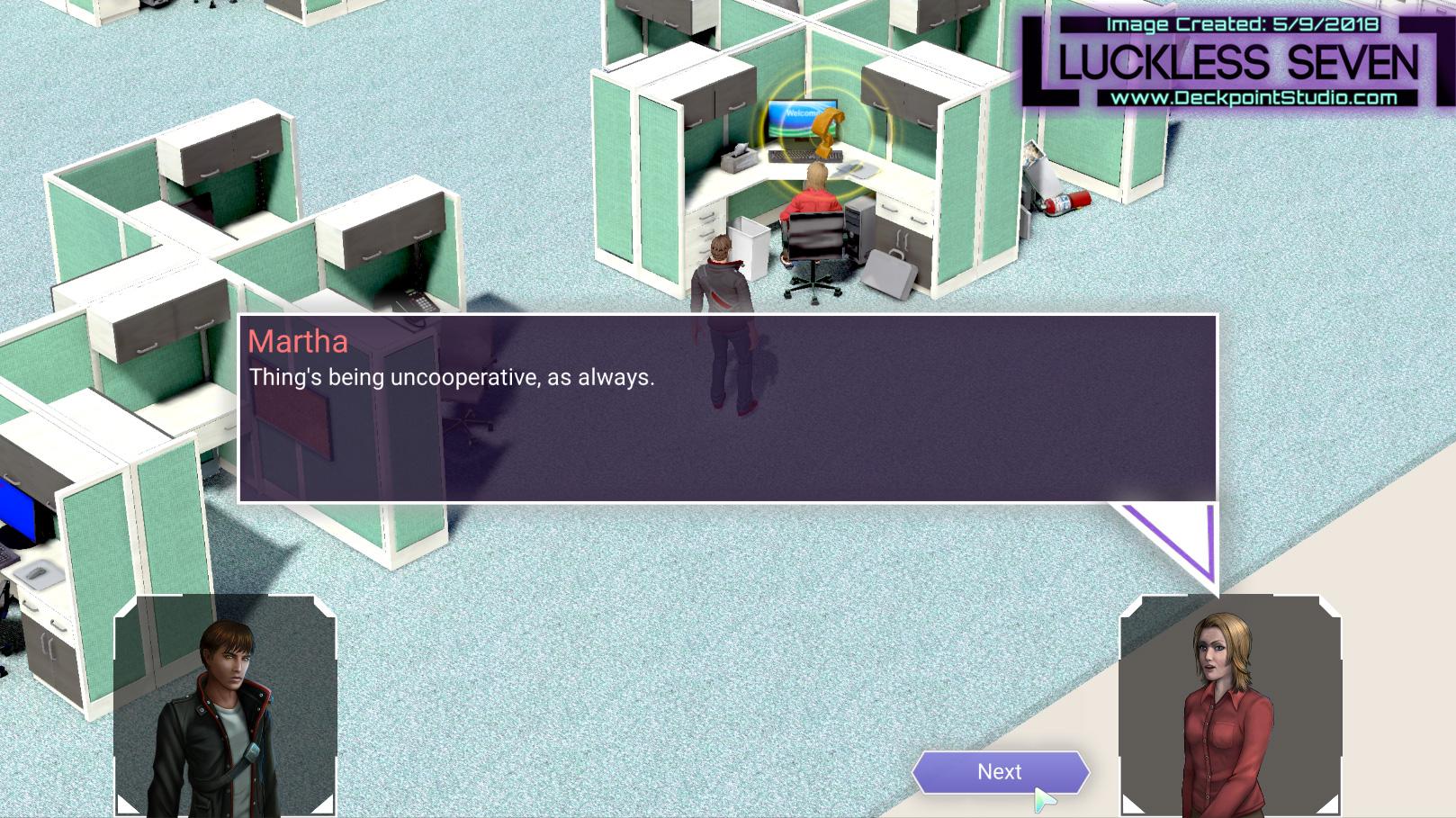 Luckless Seven Hospital Dialog N