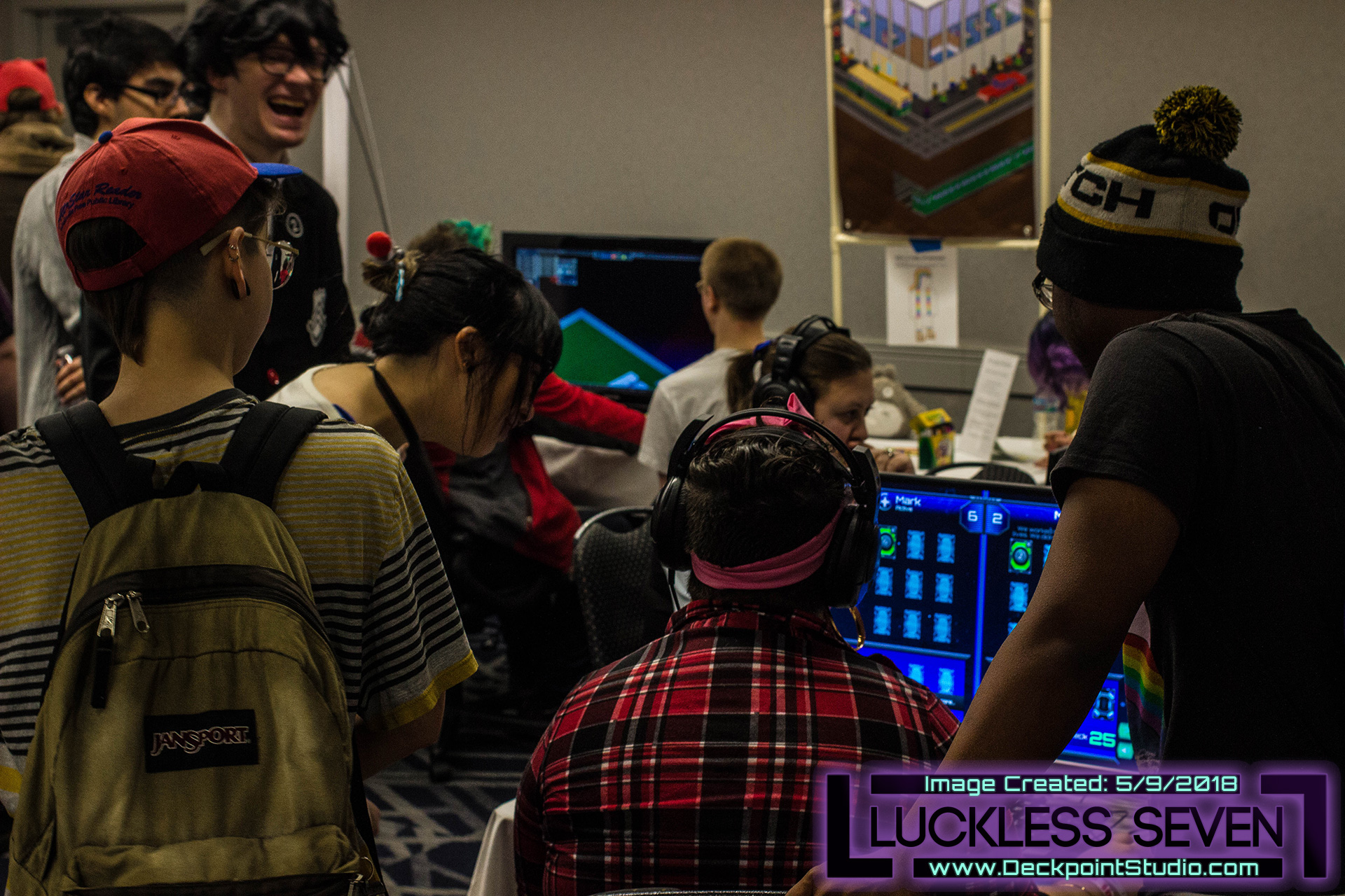 Luckless Seven Ohayocon Indie Bo 4