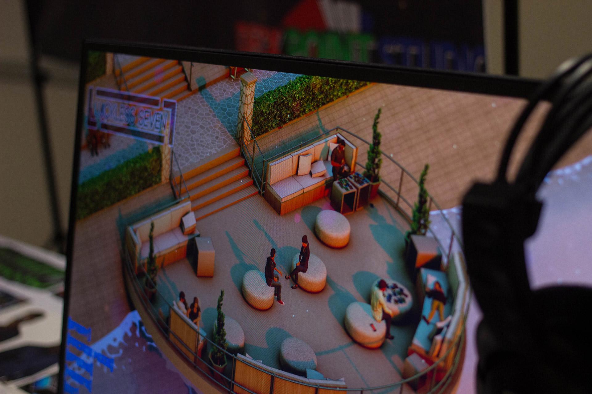 Matsuricon Luckless Seven Booth 3