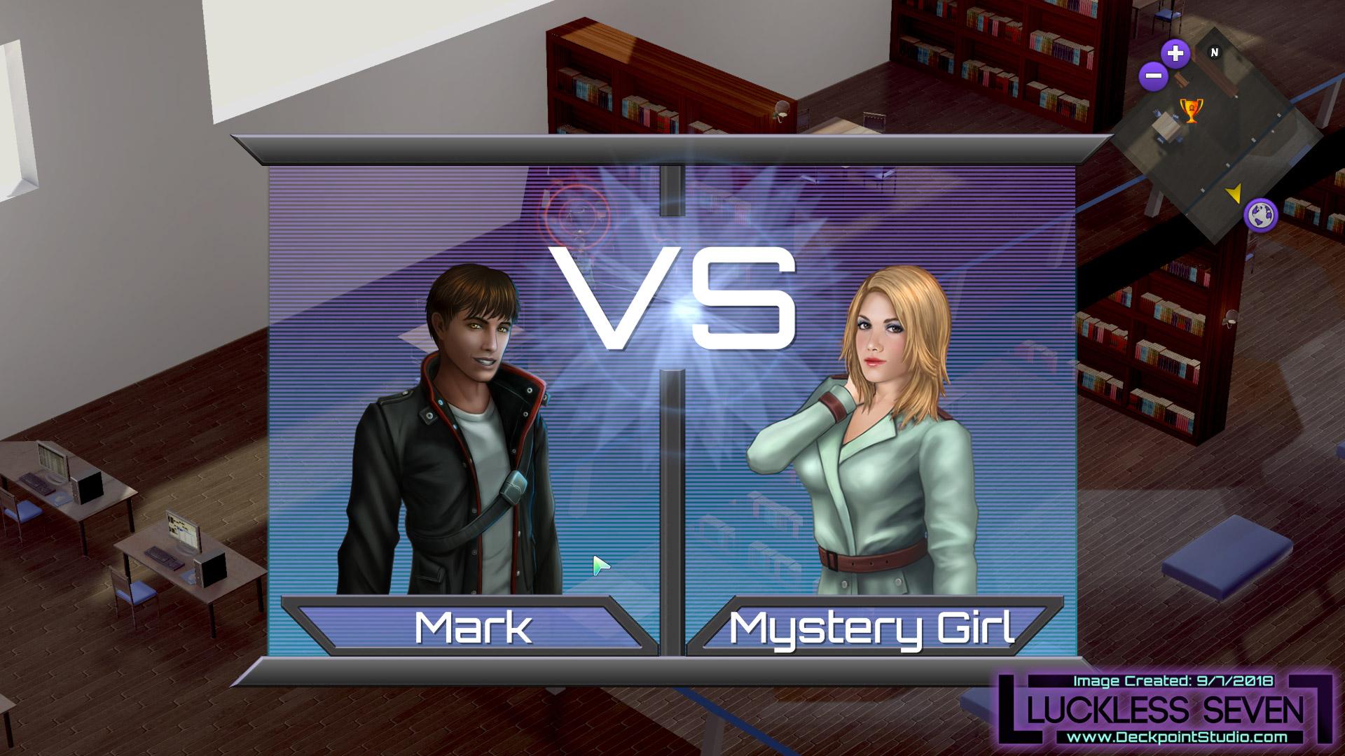 Versus screen Luckless Seven 2