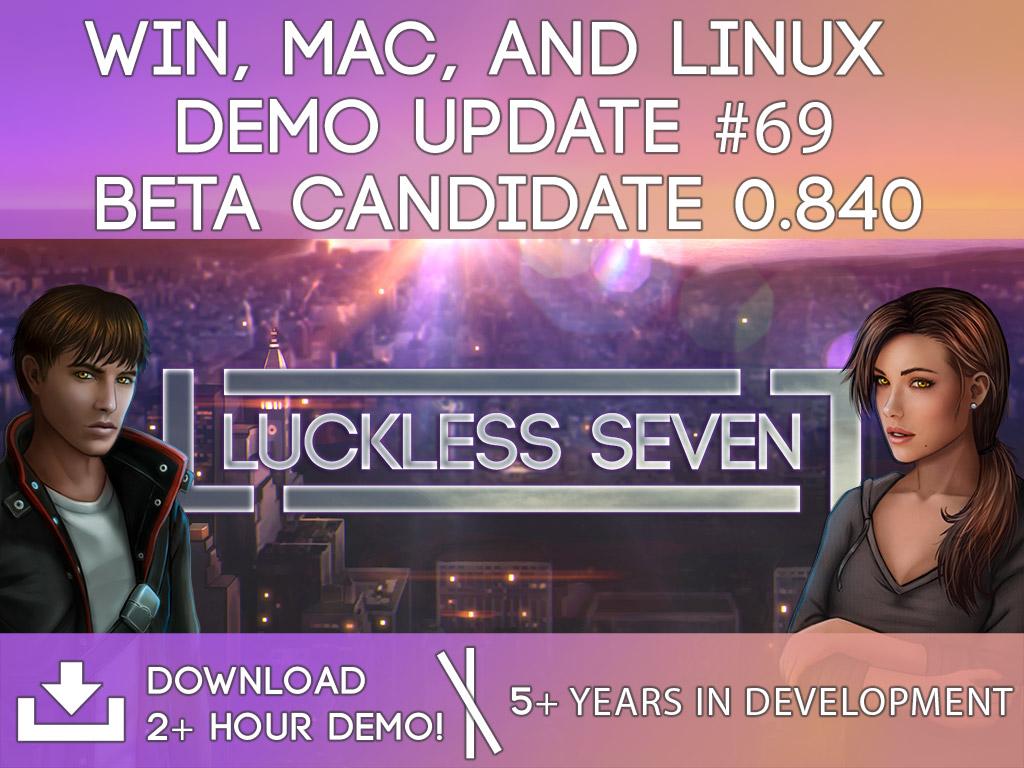 Luckless Seven 0 840 Beta WinMac 1