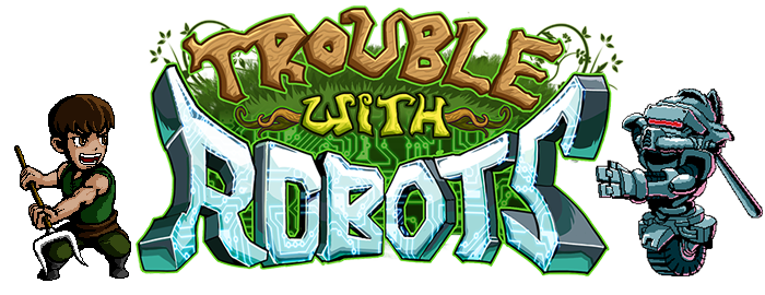 Trouble With Robots Website Header
