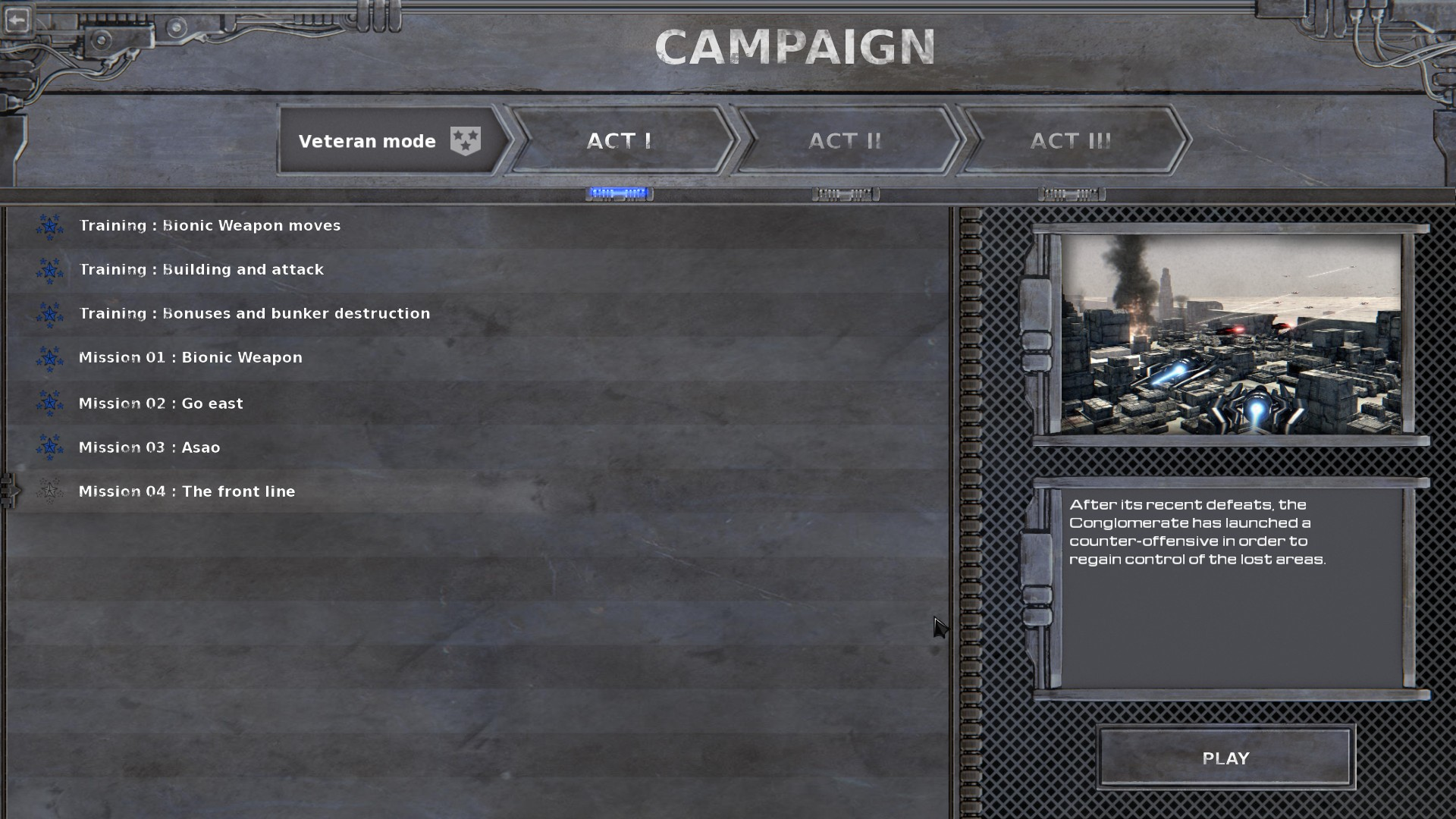 campaign act I
