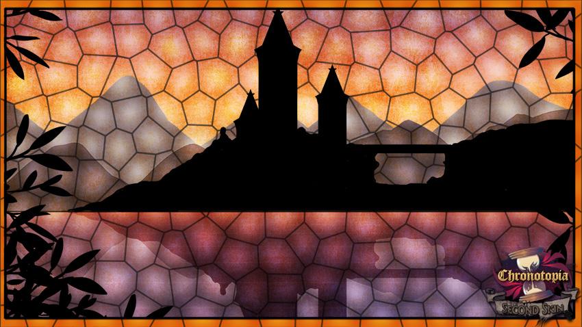 Kingdom Faraway stained glass