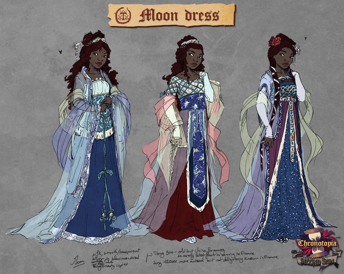 Moon dress sheet
