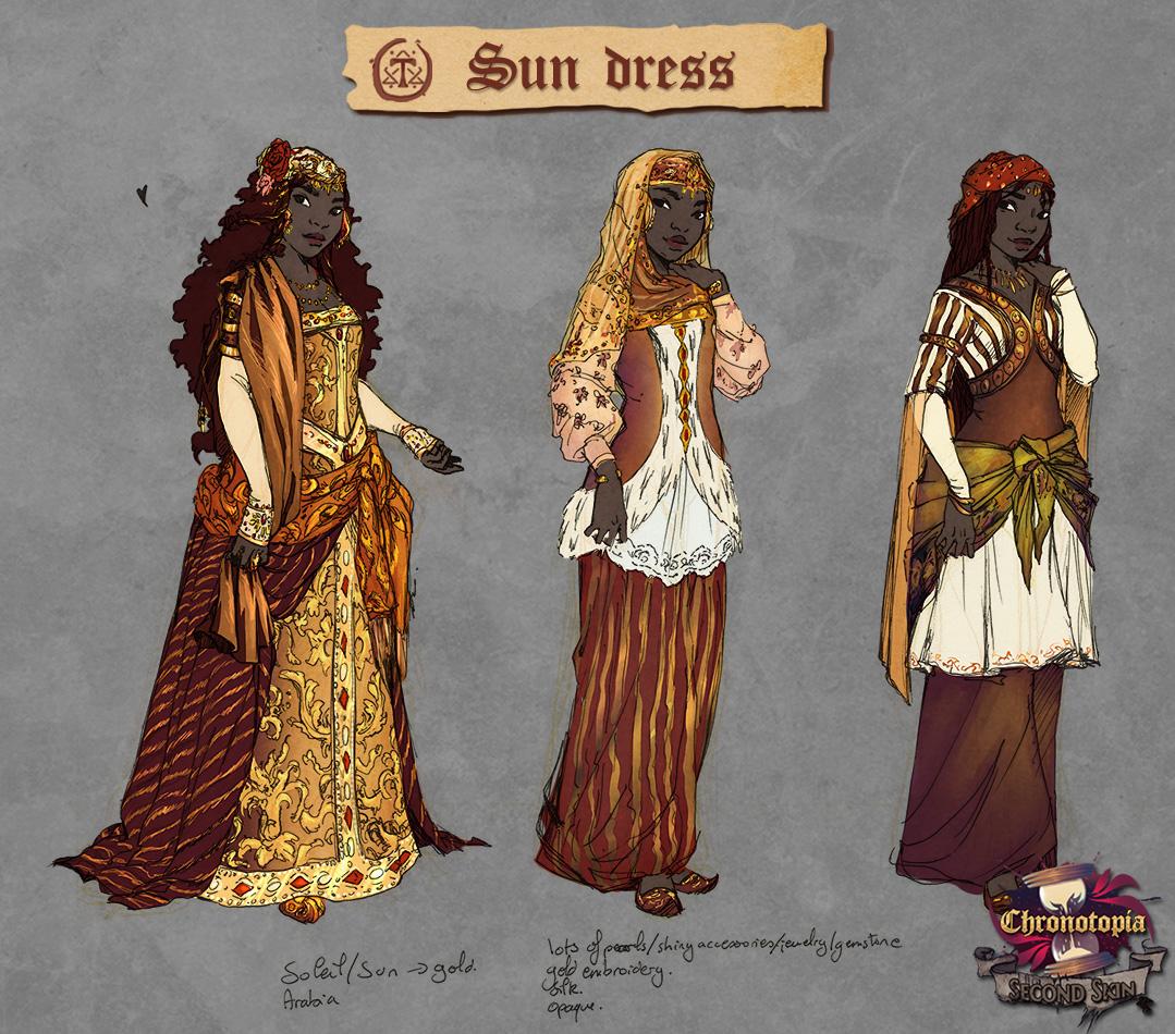 Sun dress sheet