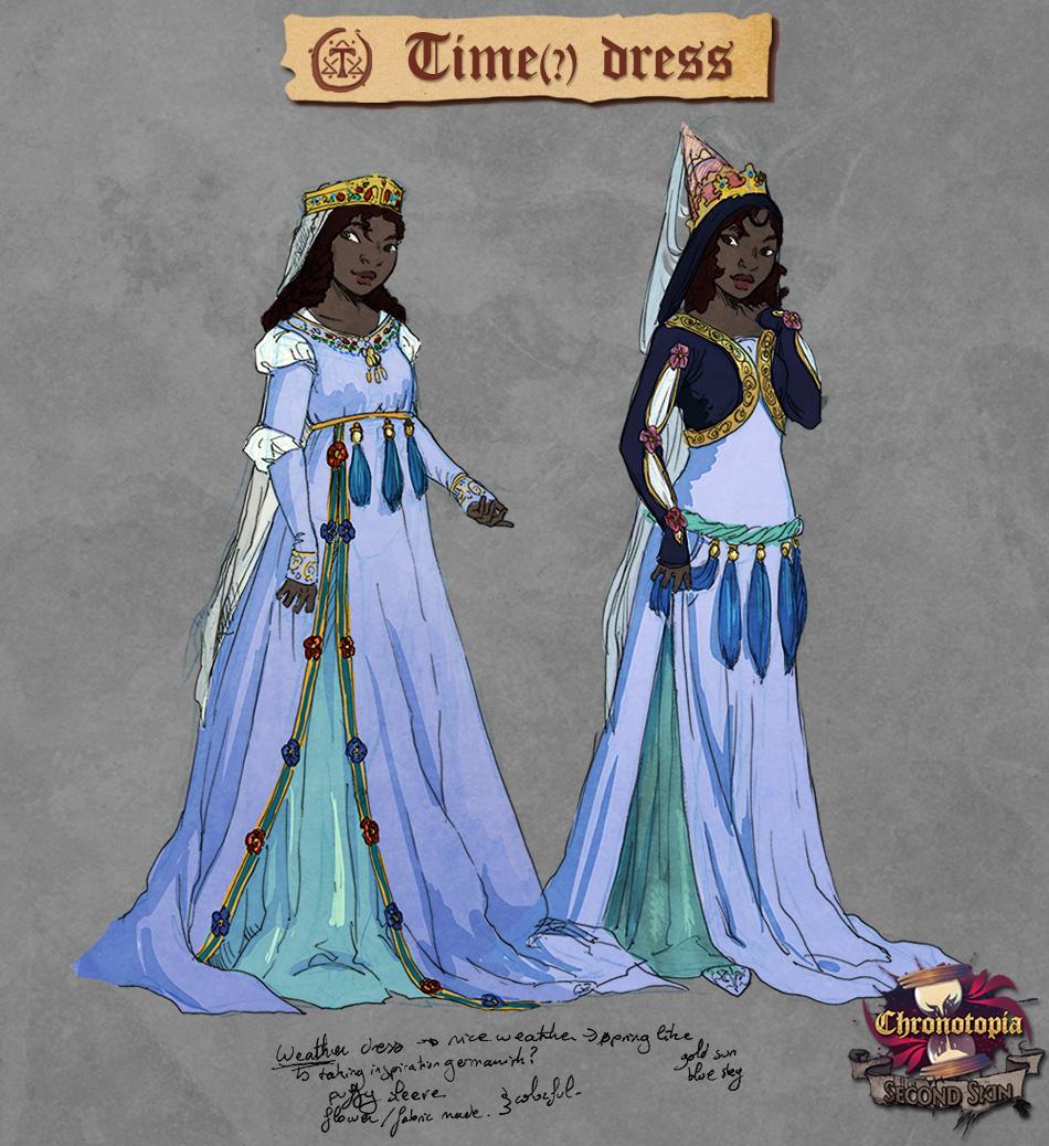 Time dress sheet