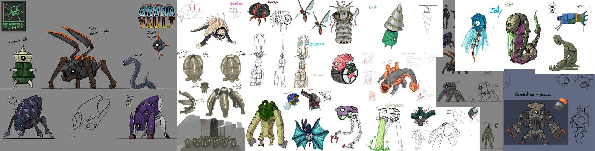 RuinCreatures collage
