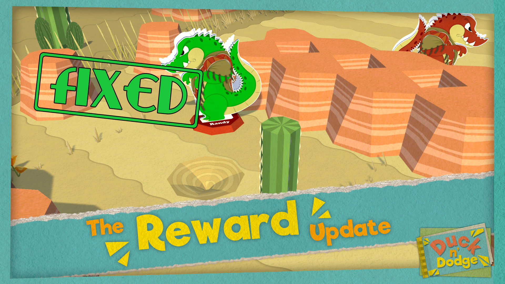 The Reward update fixed
