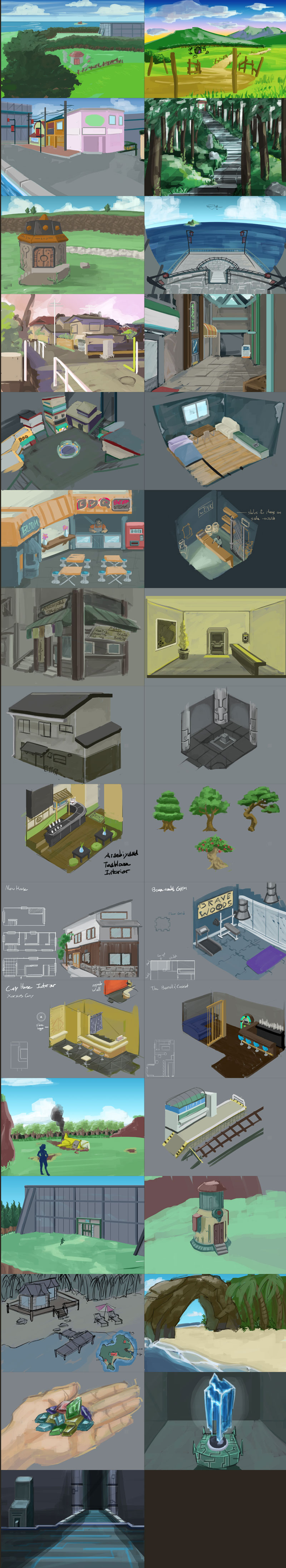 ArtDump1 Environments