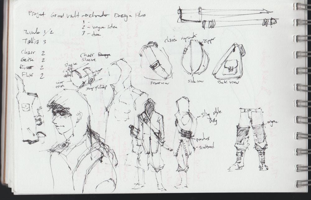 Charr Doodles2