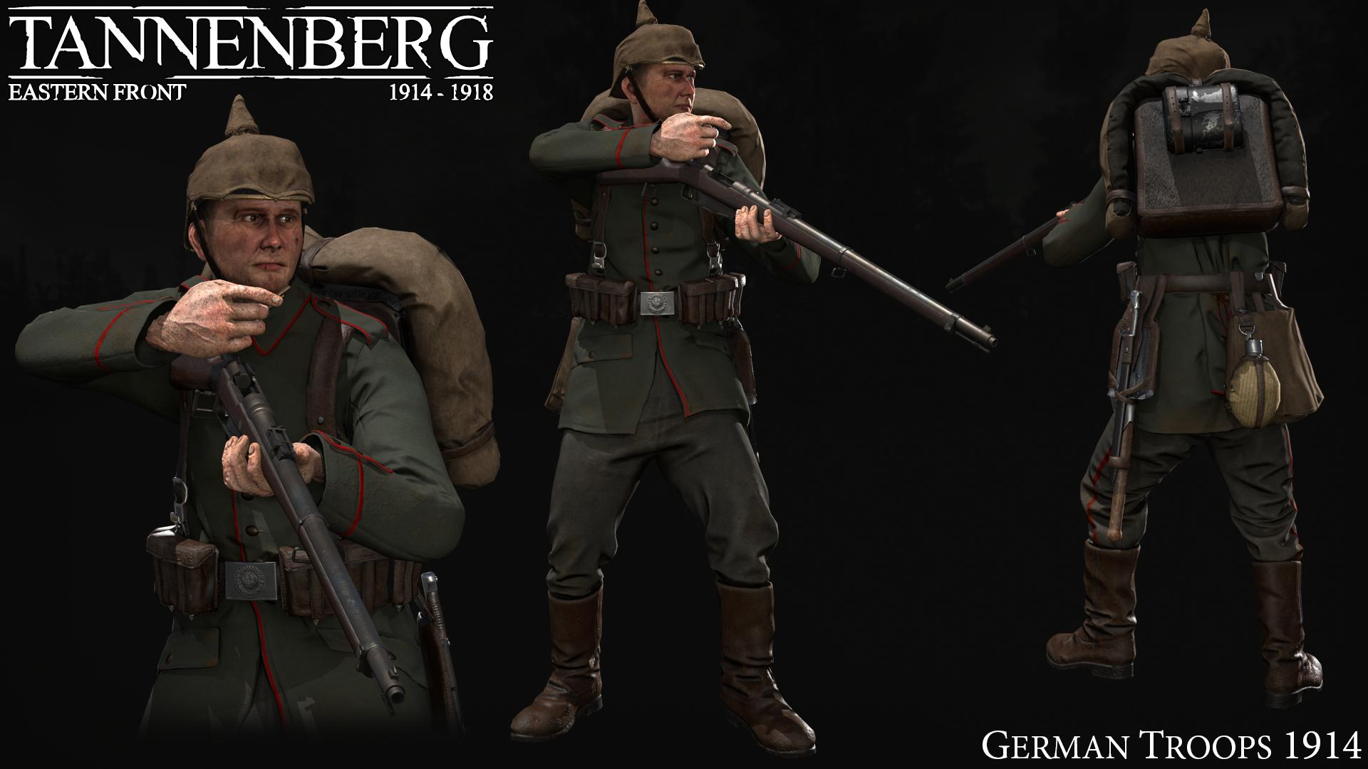German Troops 1914