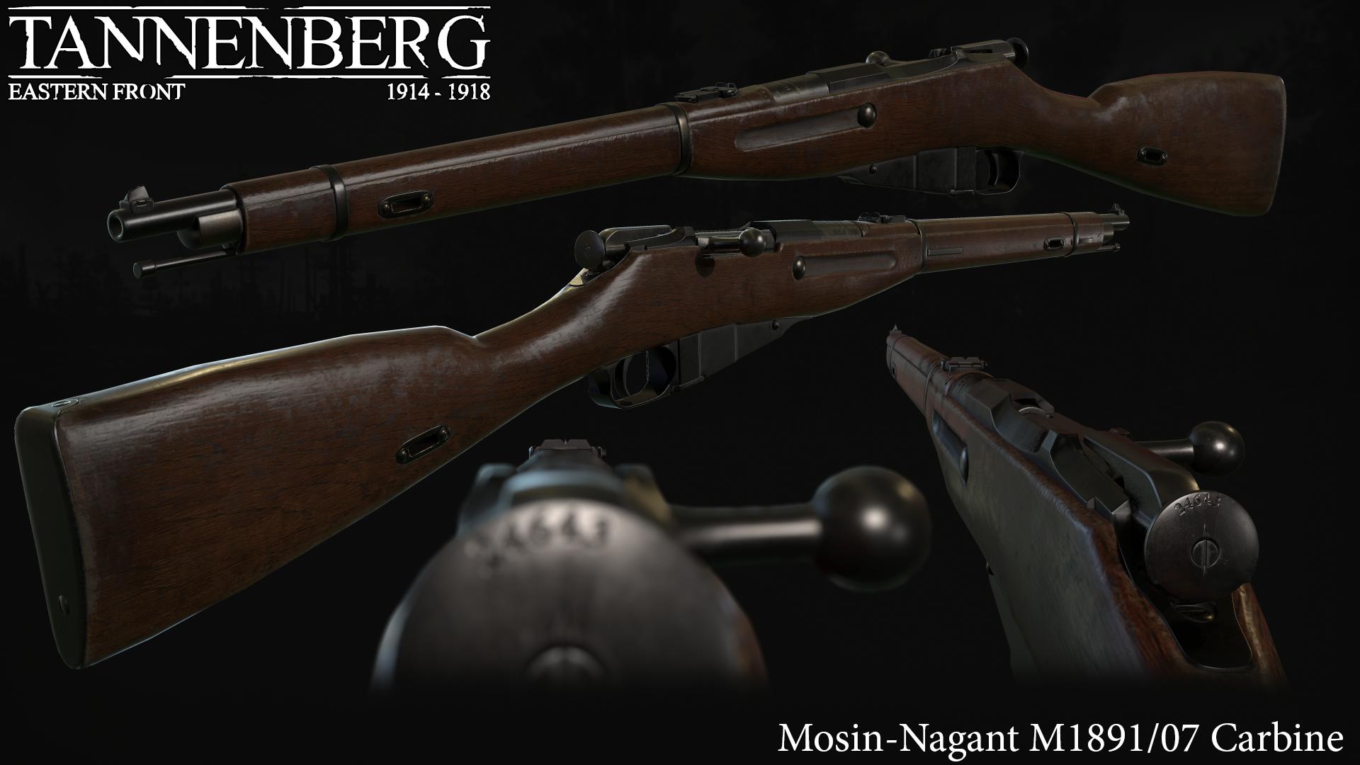 Moison-Nagant M1891/07 Carbine