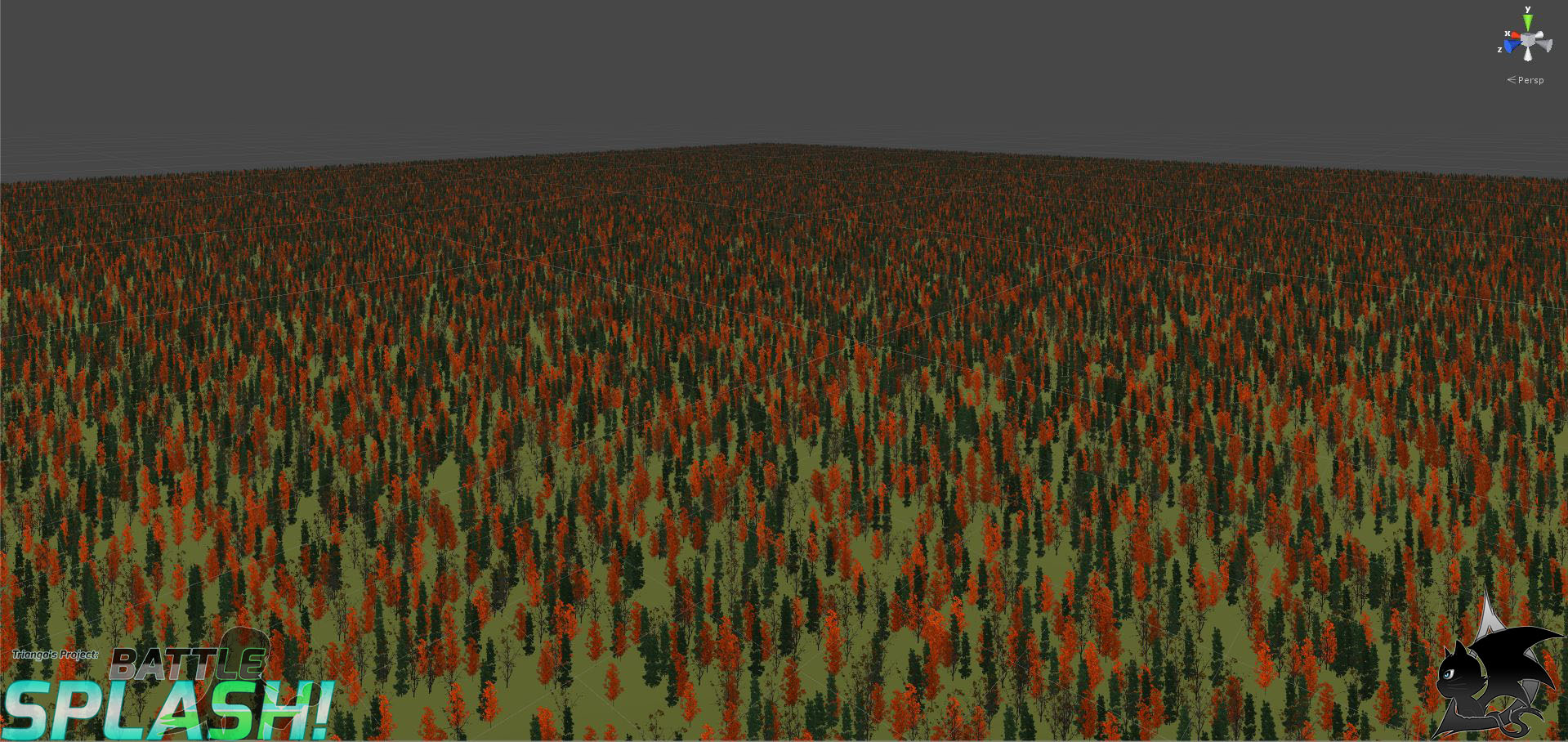Battle Splash Testing - Trees, Trees everywhere! Where to sculpt, what is the layout??