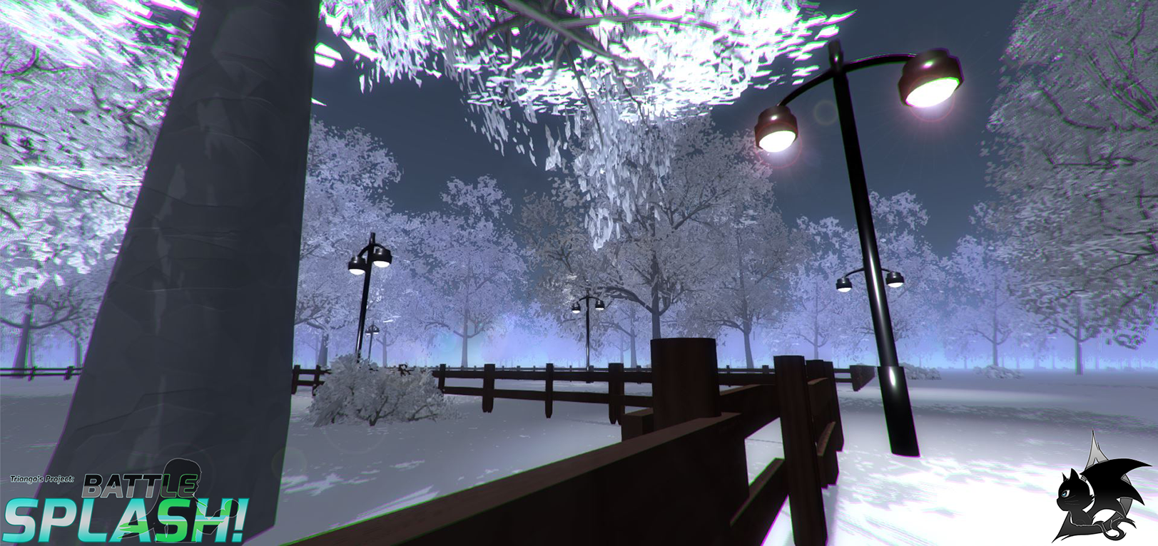 Battle Splash Winter Map 5