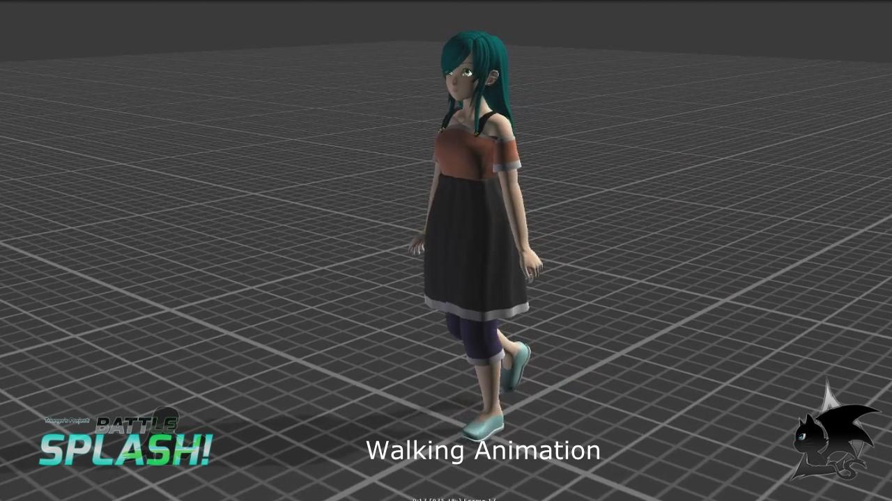 Temiko Animation Battle Splash