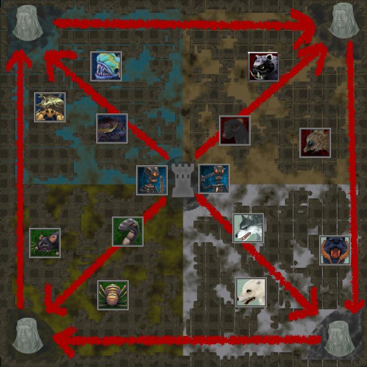 map attacks