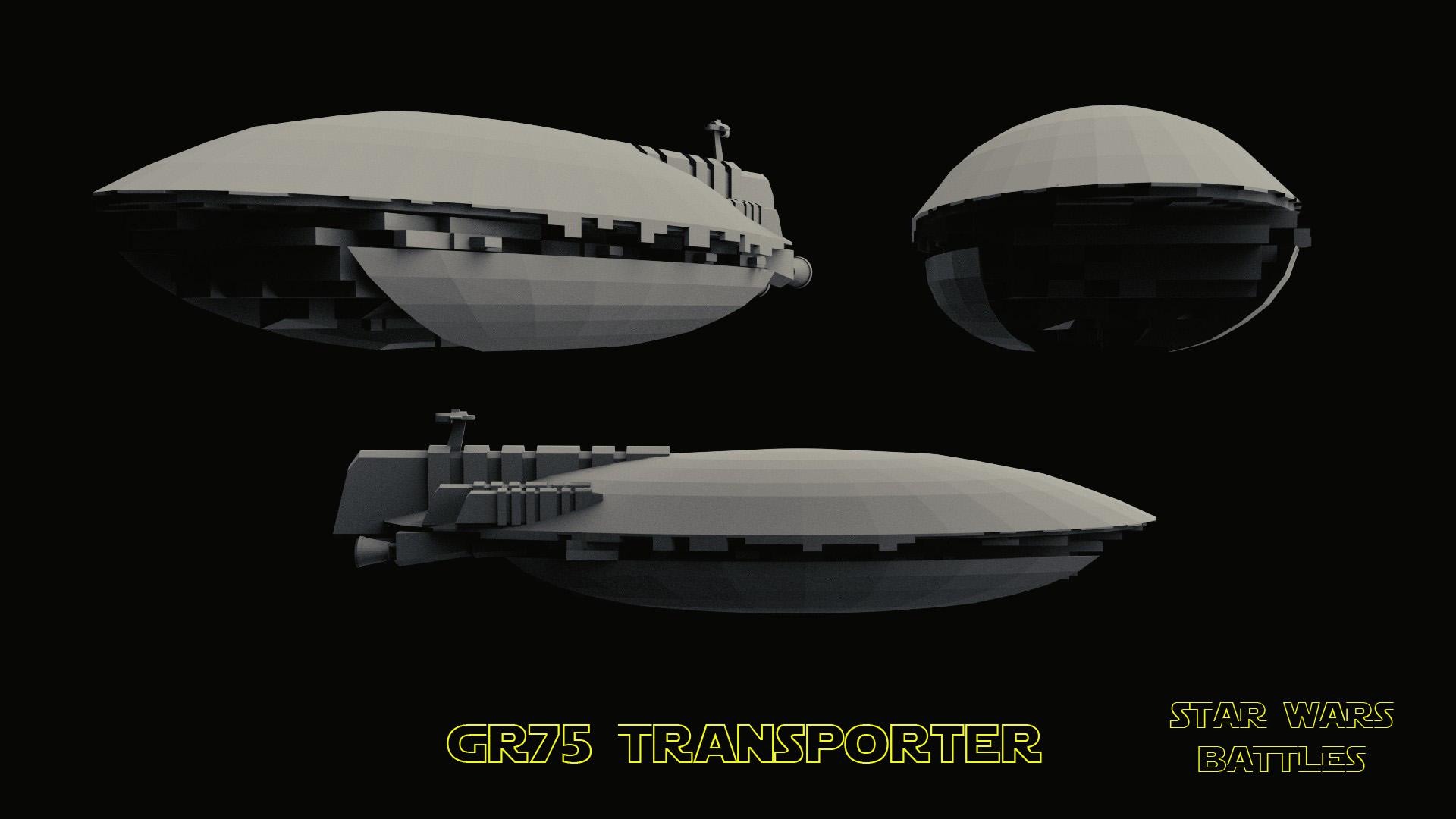 GR75 Transporter render