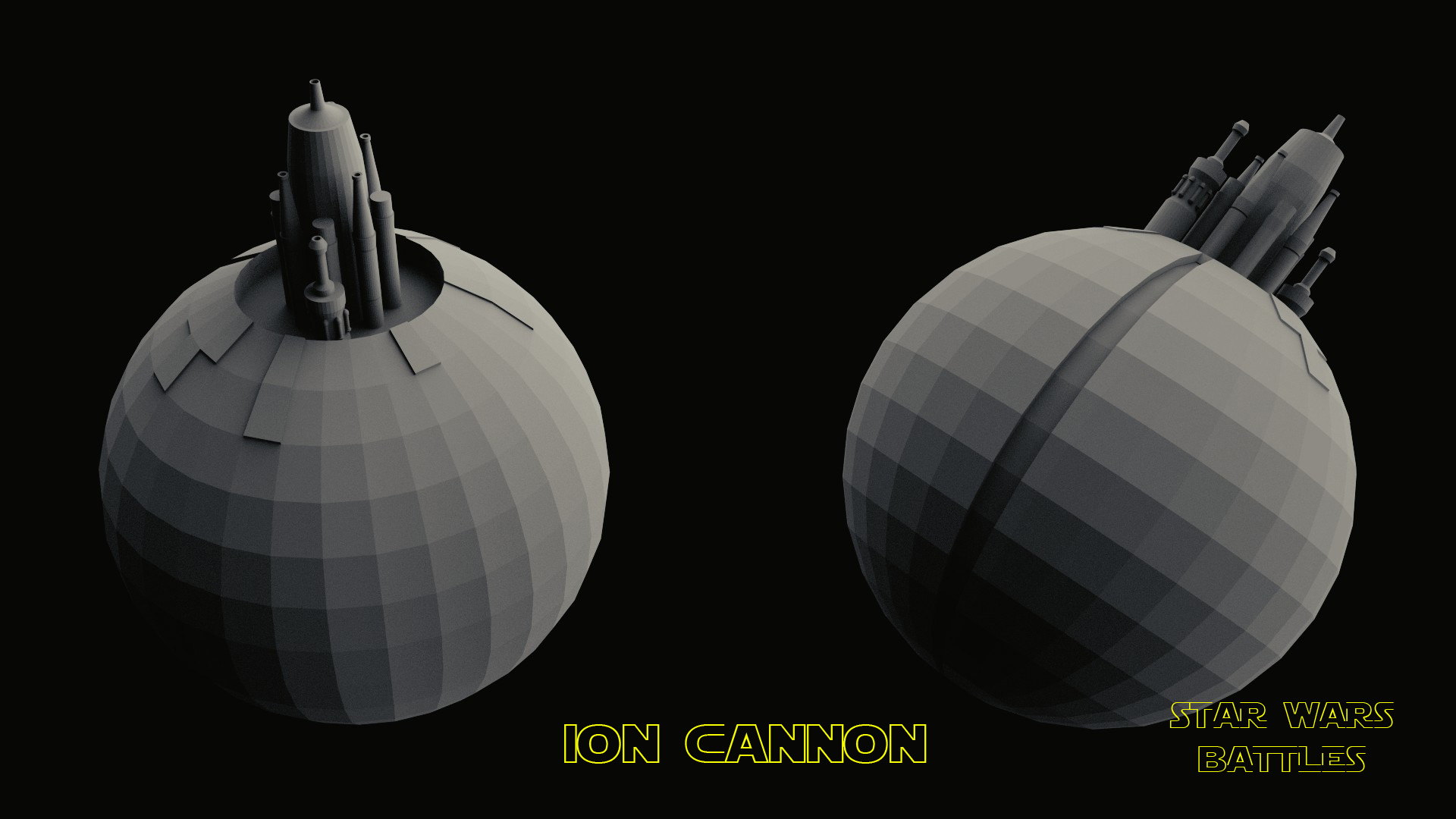 Ion Cannon render