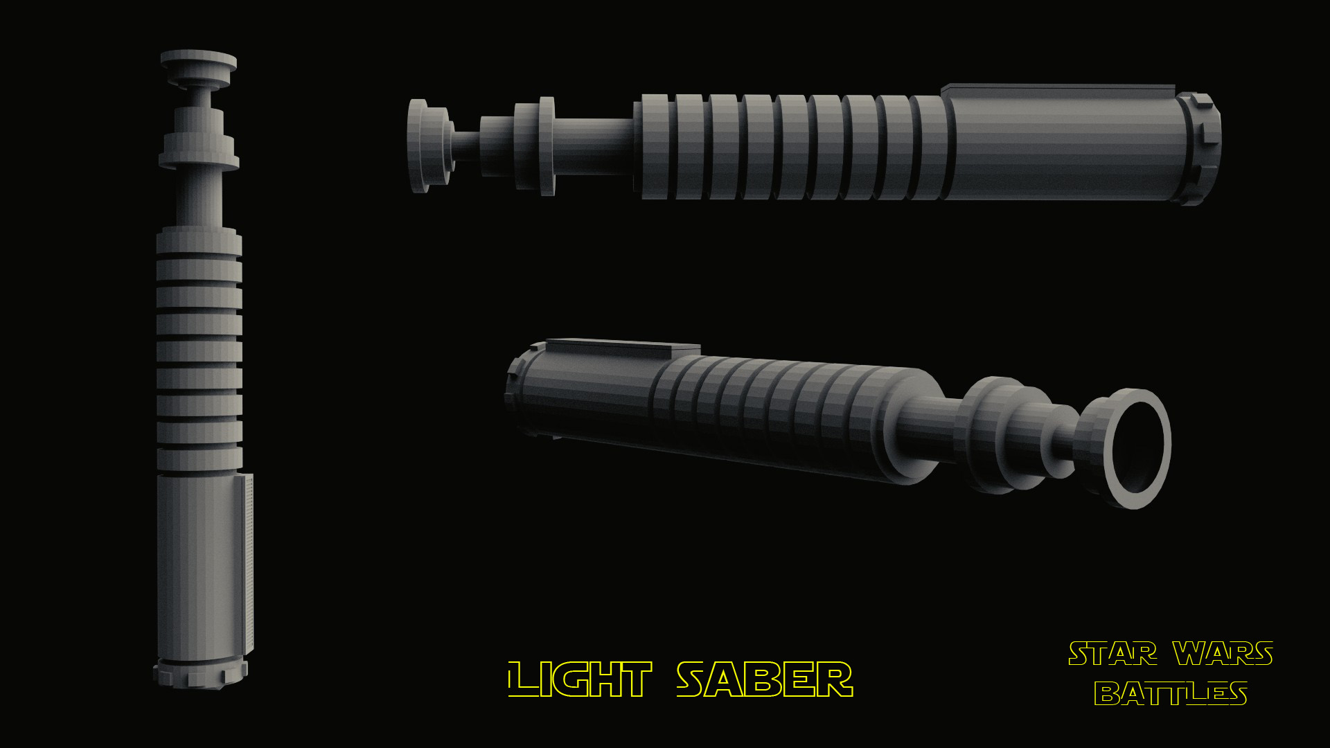 LightSaber render
