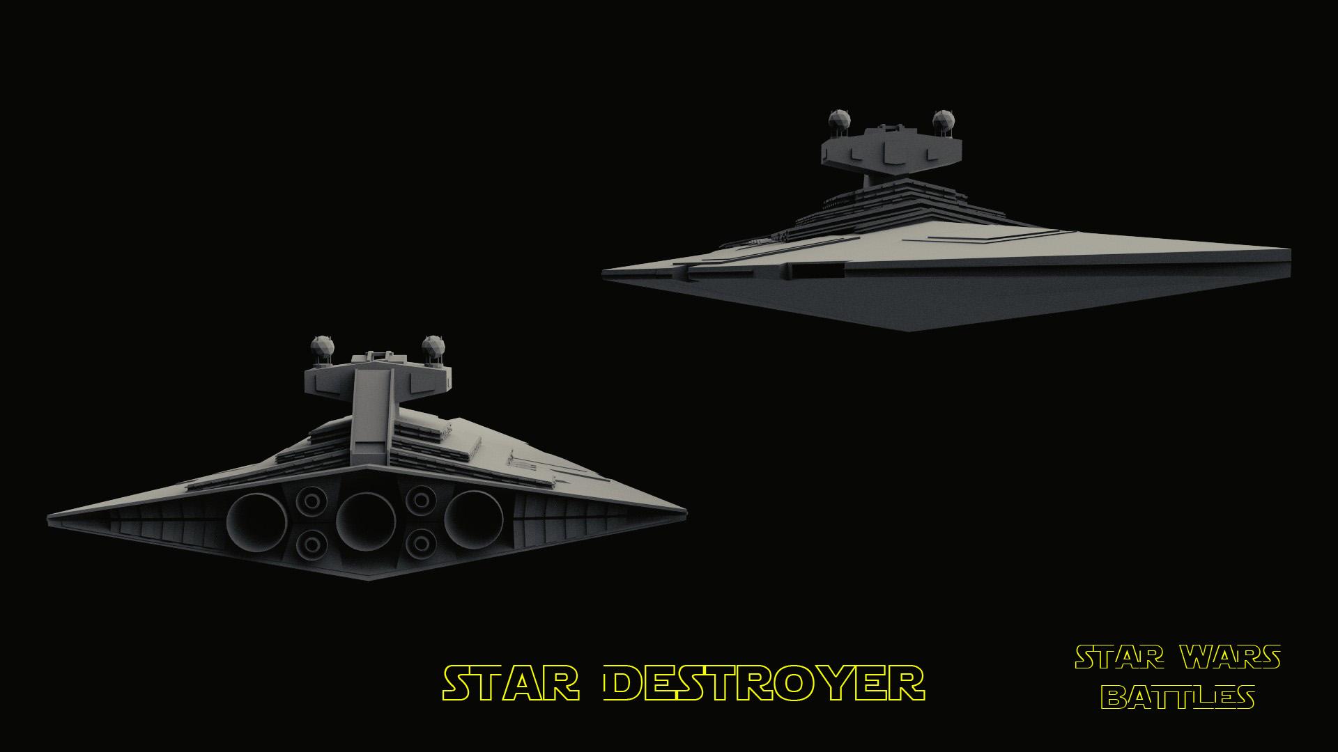StarDestroyer render