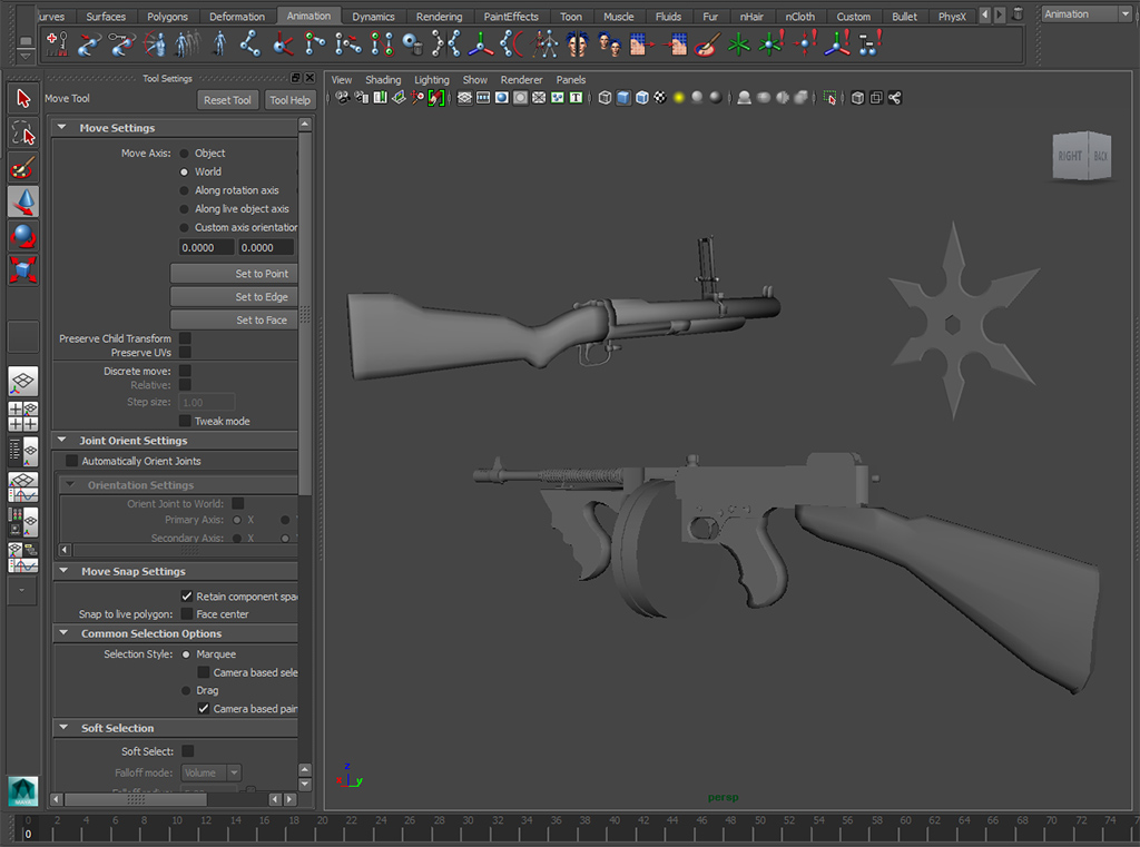 Here's some WIP of some upcoming Weapon Mod Combo's