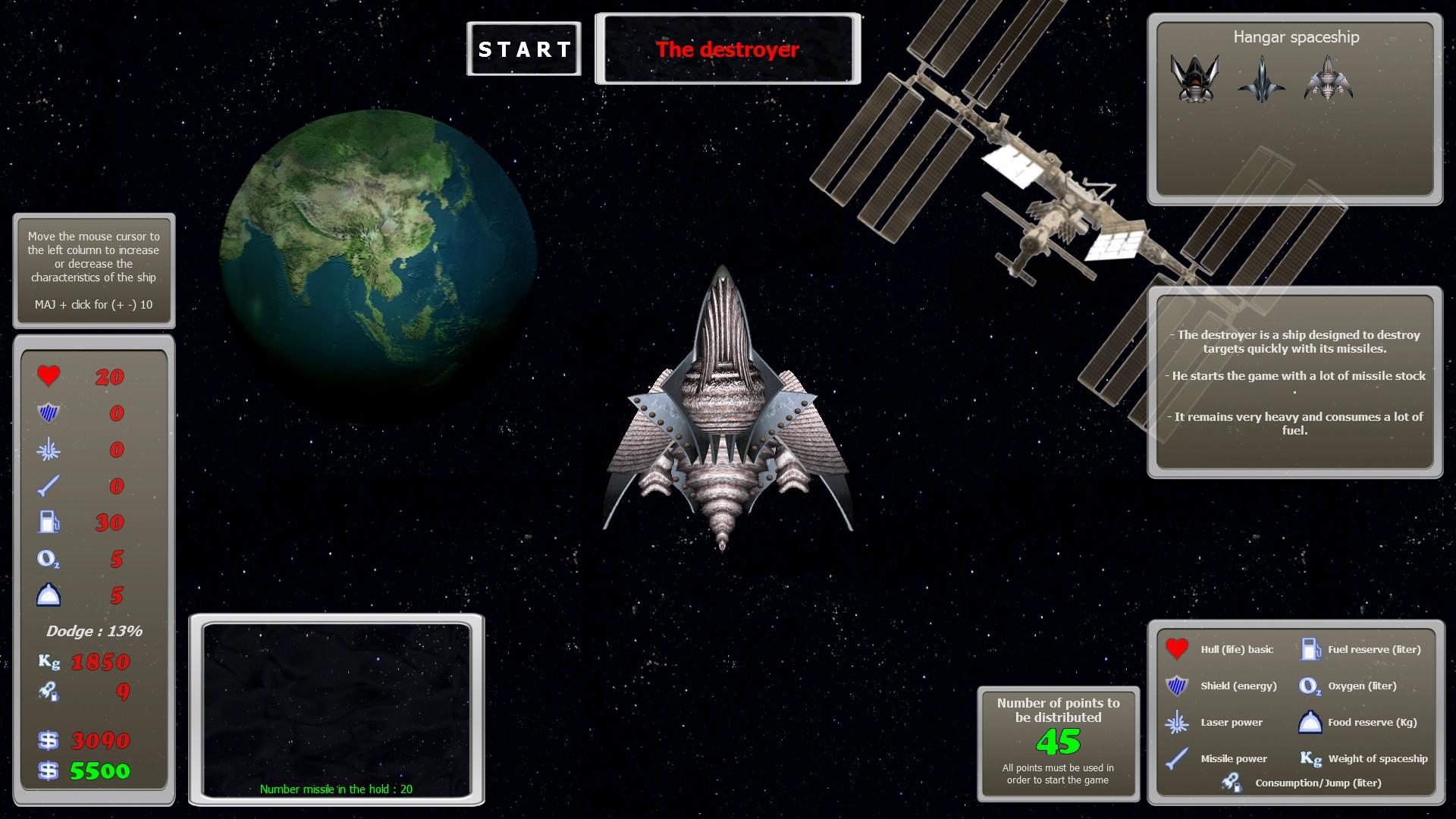 New SpaceShip