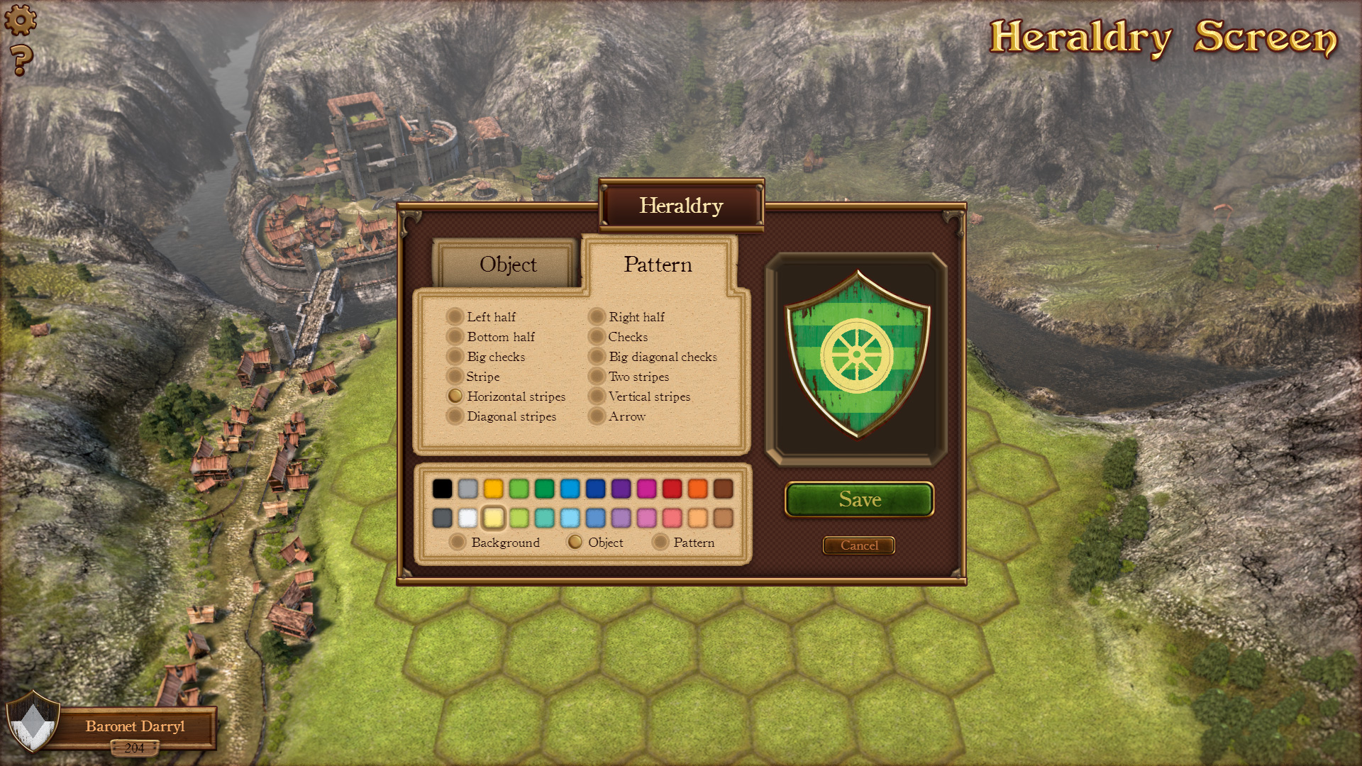 6 Heraldry Screen