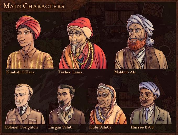 Kickstarter main characters v3