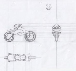 Biker Bot sketch