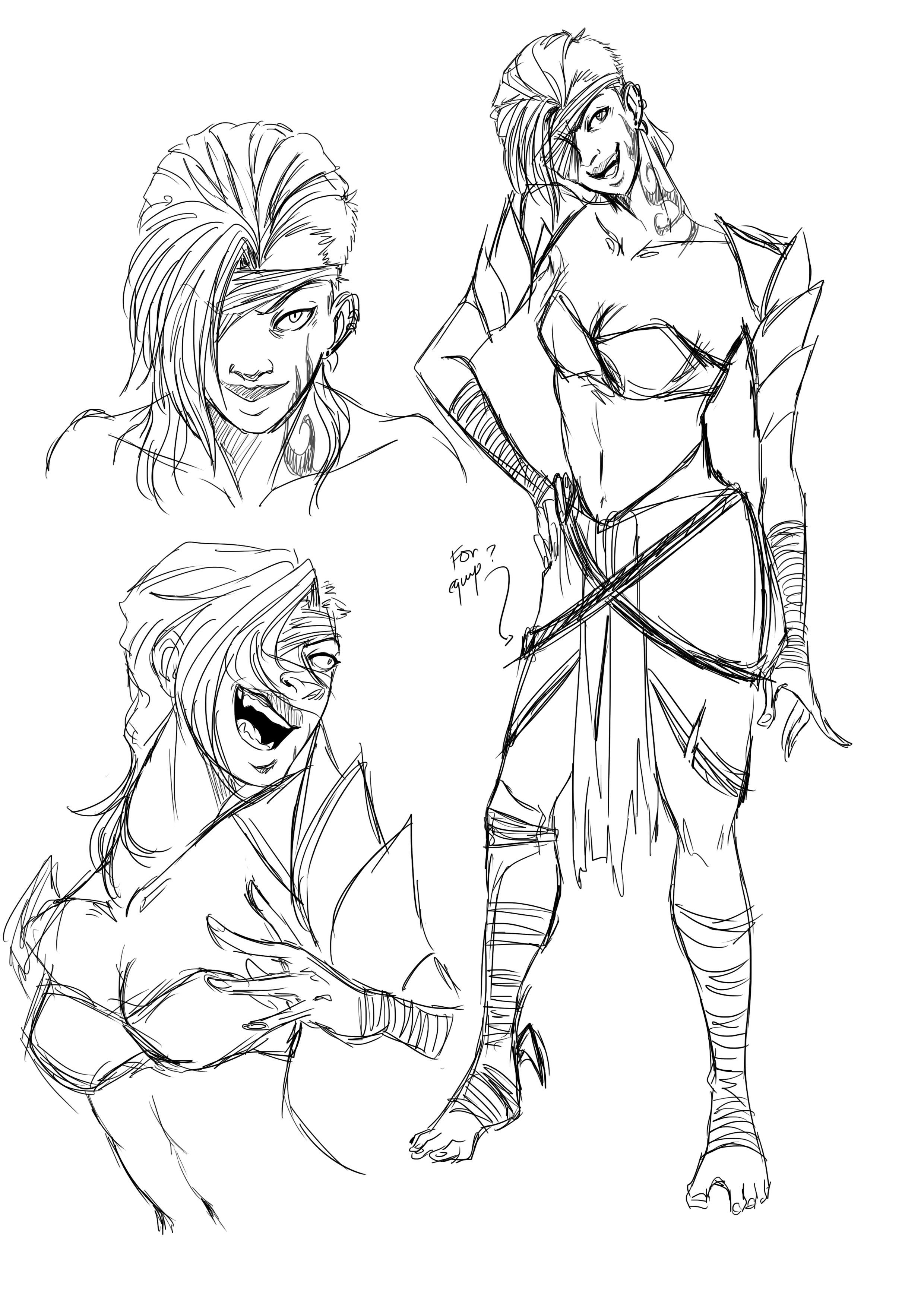 female wizard concept 01