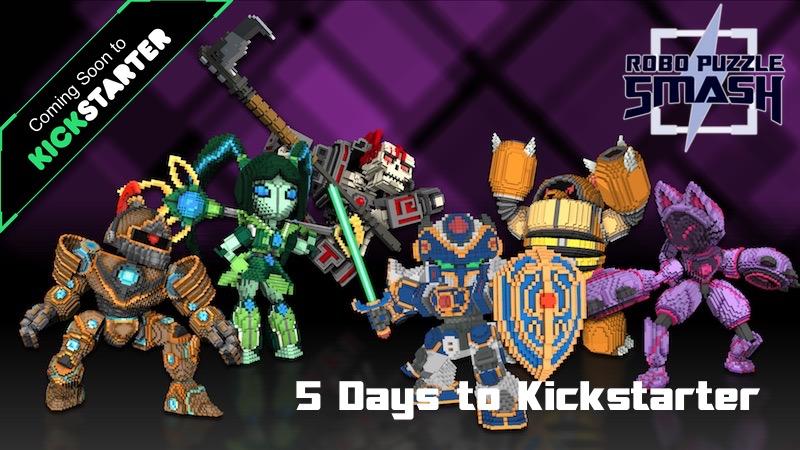 Robo Puzzle Smash Kickstarter Coming Soon
