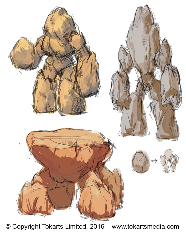Geocor Sketches
