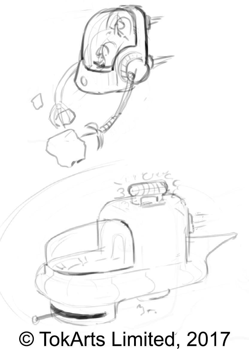 Daran Ship Sketches 3
