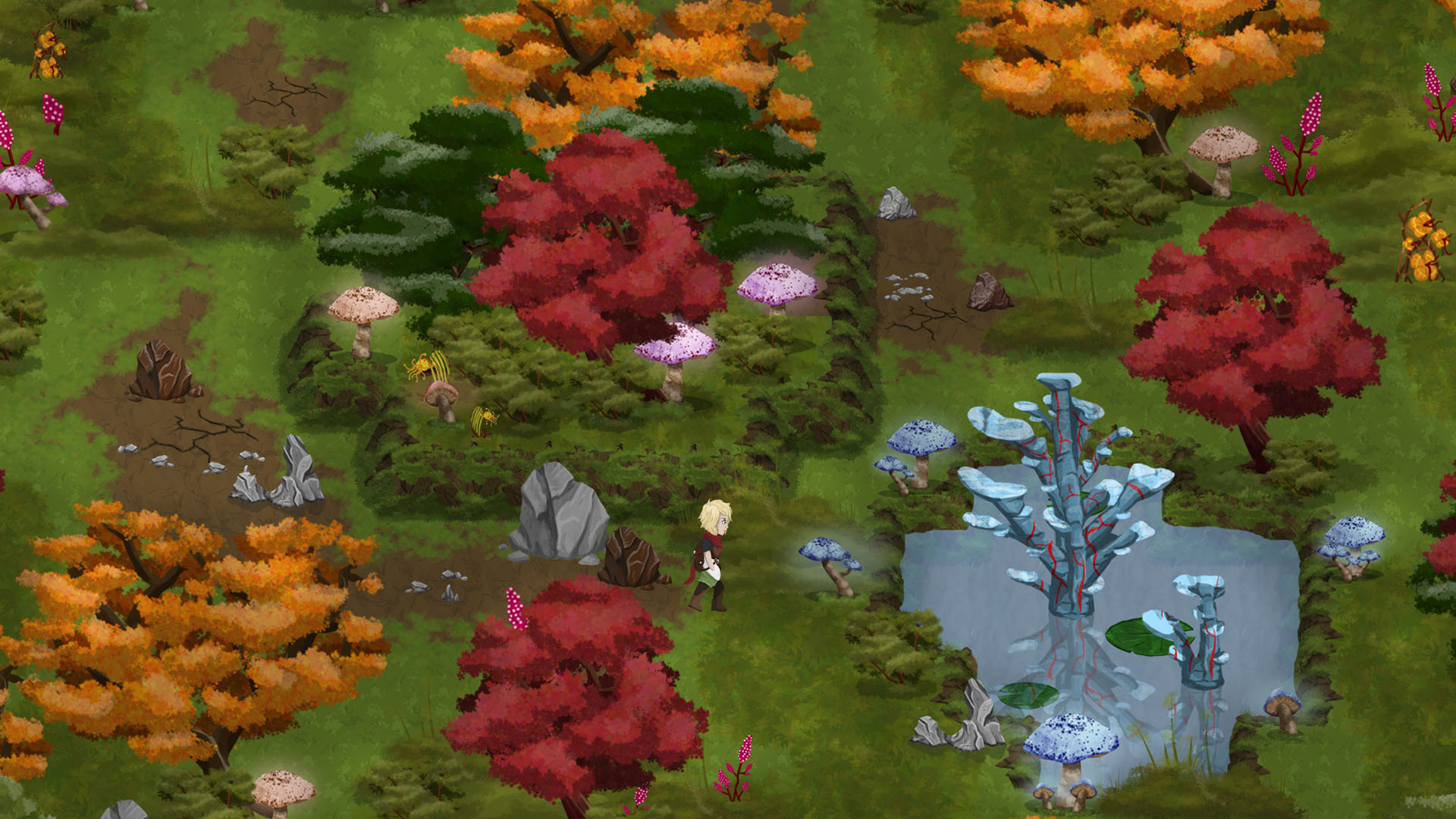 Forest Screenshot with Character (No UI)