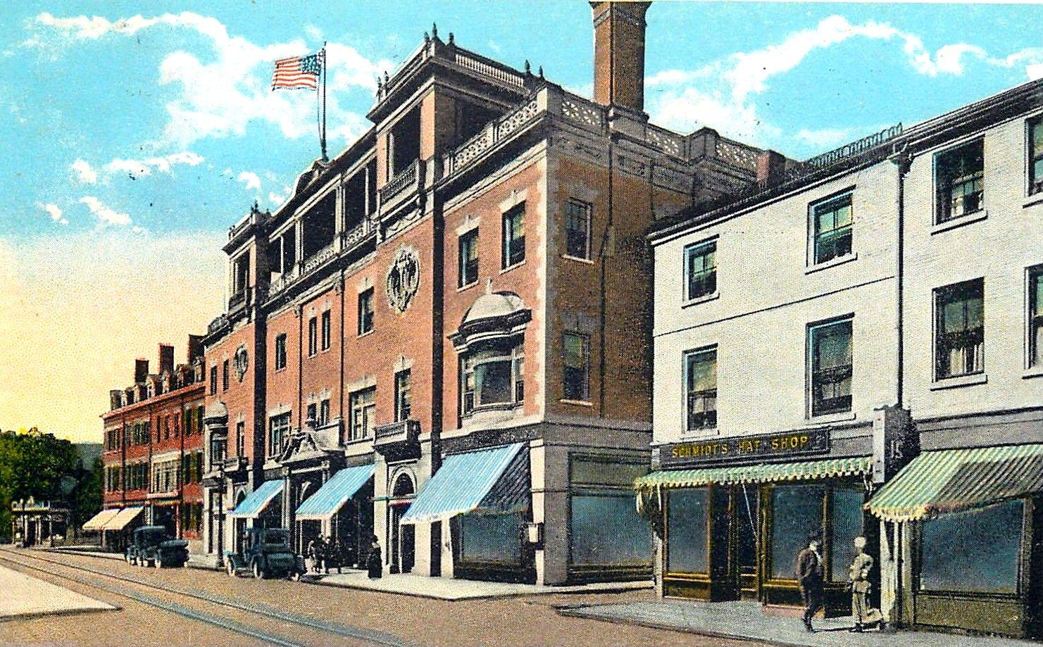 essex street ymca 1920s