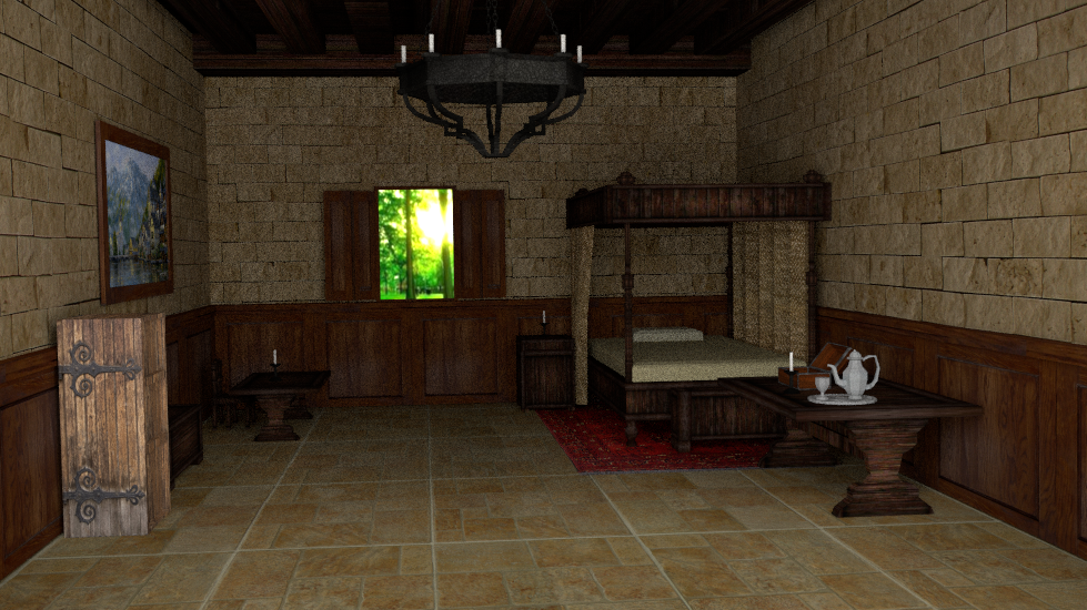 Charmant Report RSS Interior Medieval Bedroom (view Original)