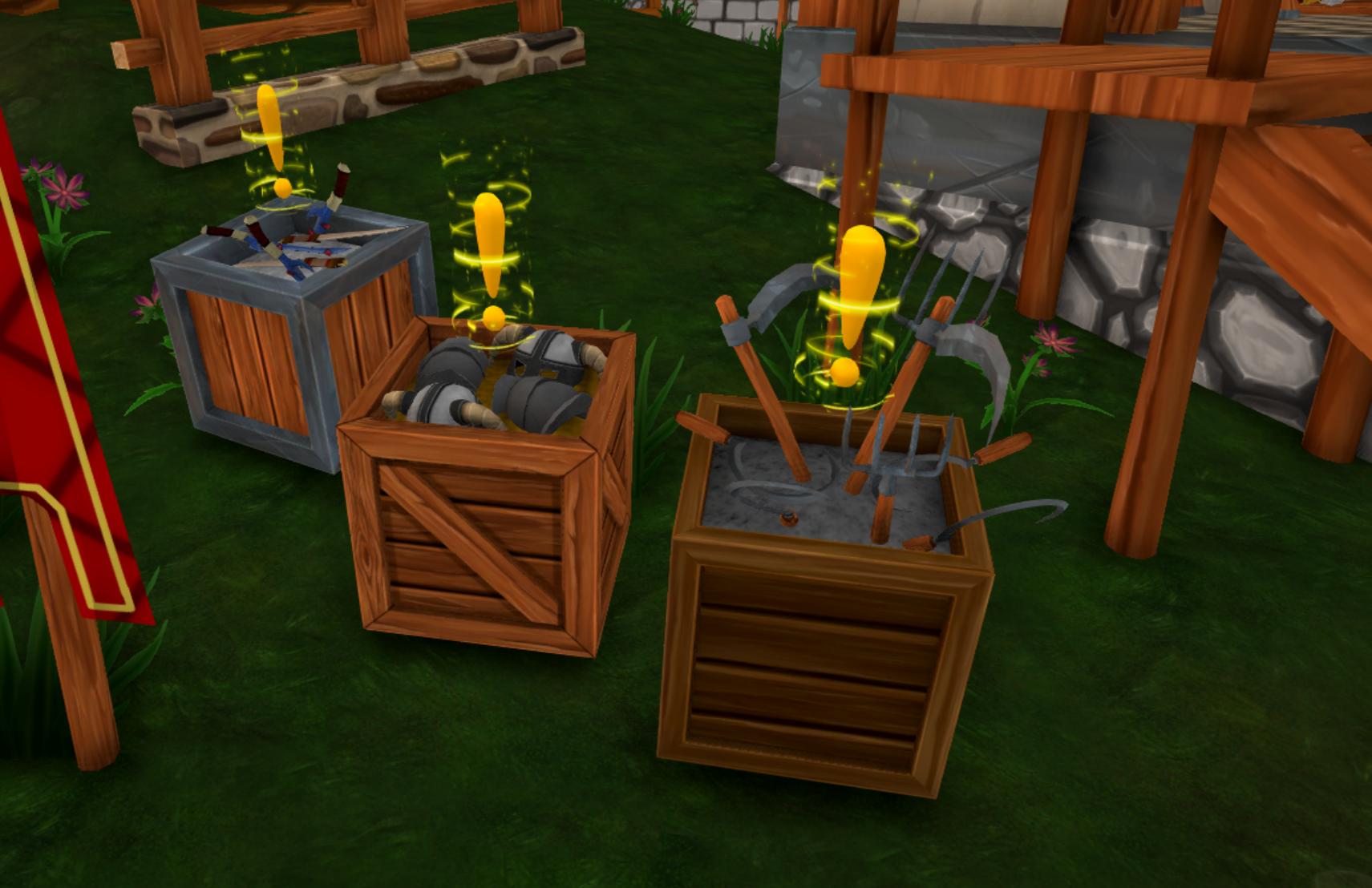 Shoppe Keep 2 Crates