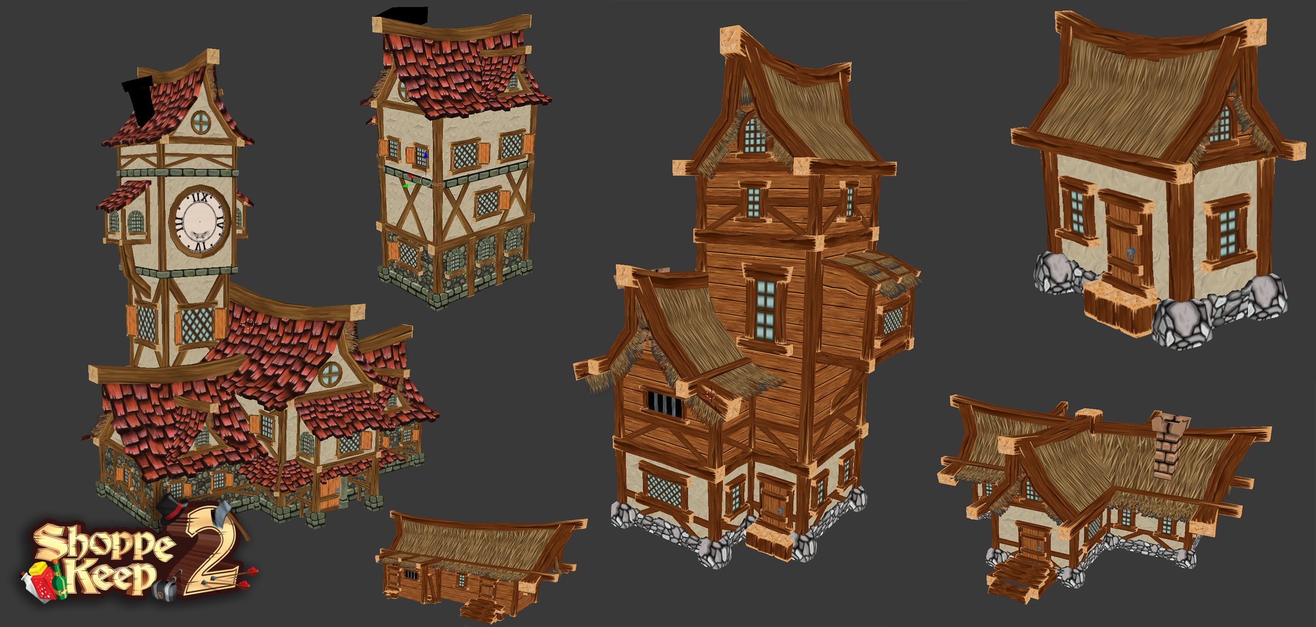 Shoppe Keep 2 - Building Variations