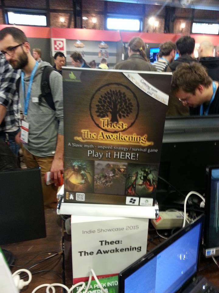 MuHa Games stand at Digital Dragons conference